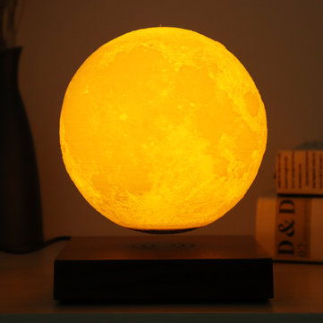 3D Moon Lamp Magnetic Levitation Home Decorative Moon Light Floating Lamp