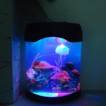 Aquarium Simulation Jellyfish Background Lamp Night Light