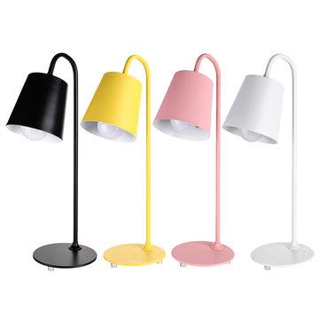 Nordic Metal Table Lamp Bedside Desk Lamp Kids Bedroom Study Night Light
