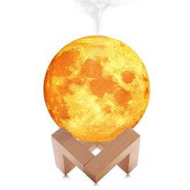 DecBest 3D Moon Lamp Diffuser (White)